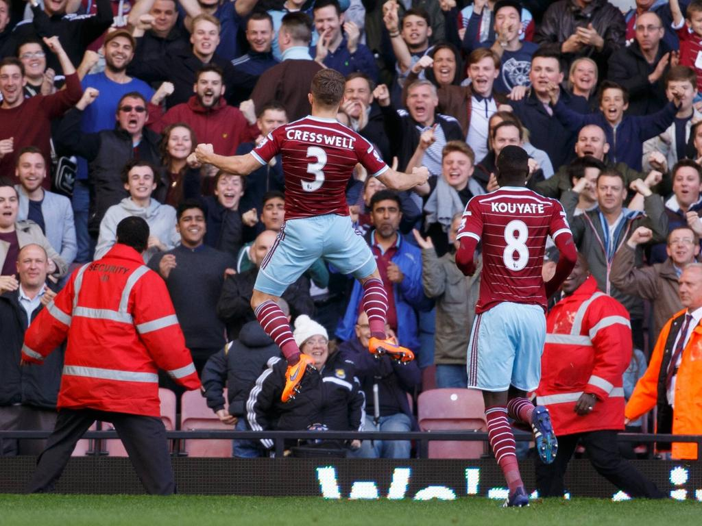 Jubel bei West Ham United