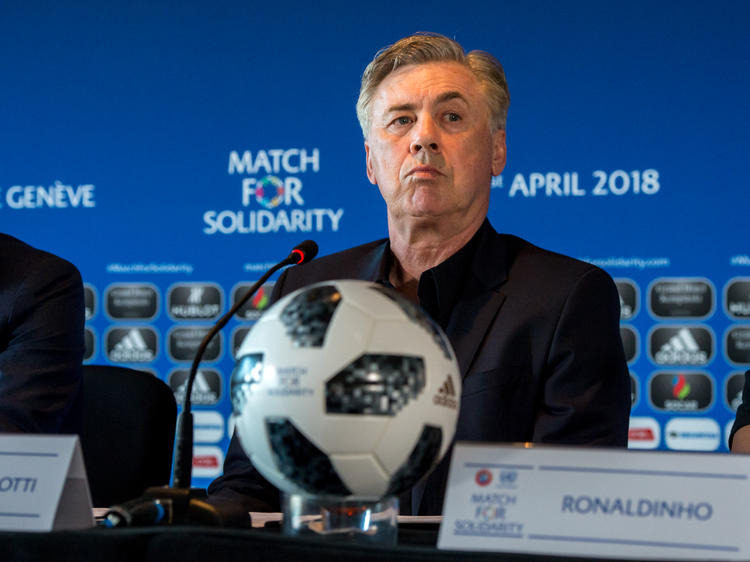 Carlo Ancelotti wird Trainer in Neapel