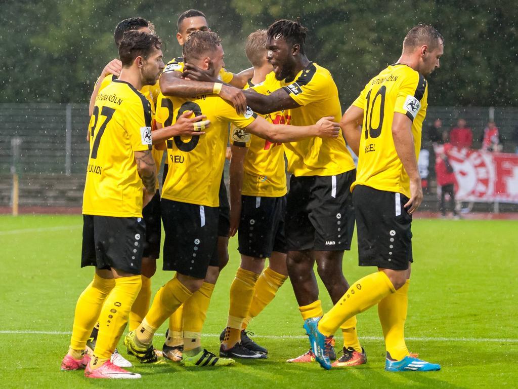 Fortuna Köln siegte auswärts in Bremen