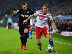 Der 1. FC Köln und der Hamburger SV müssen sich wohl aus der Bundesliga verabschieden