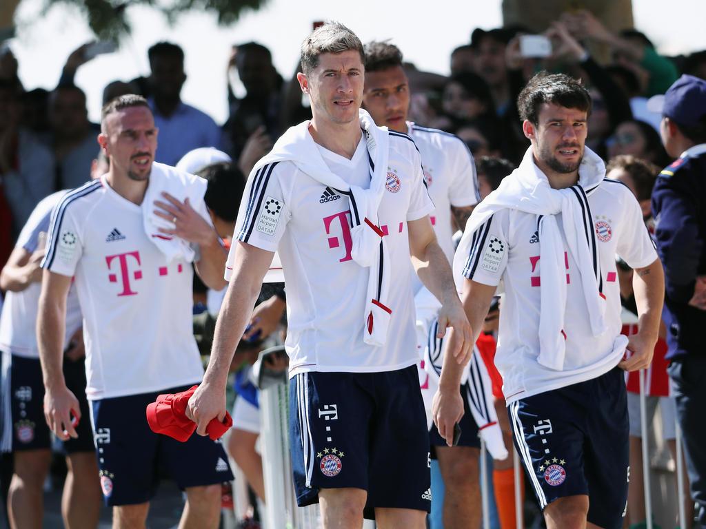 Die Stars des FC Bayern testen gegen die SG Sonnenhof-Großaspach