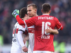 Holger Badstubers (M.) Vertrag läuft in Stuttgart zum Saisonende aus