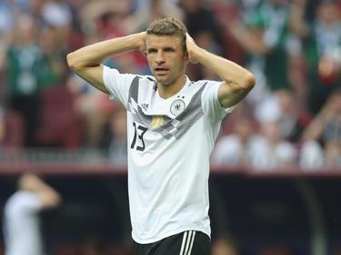 Thomas Müller agierte im ersten WM-Gruppenspiel gegen Mexiko glücklos
