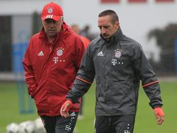 Ribéry (r.) fehlt auch gegen Hoffenheim