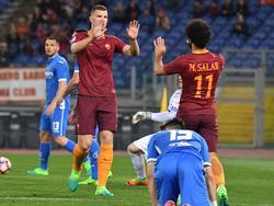 Edin Džeko erzielte zwei Tore für die Roma