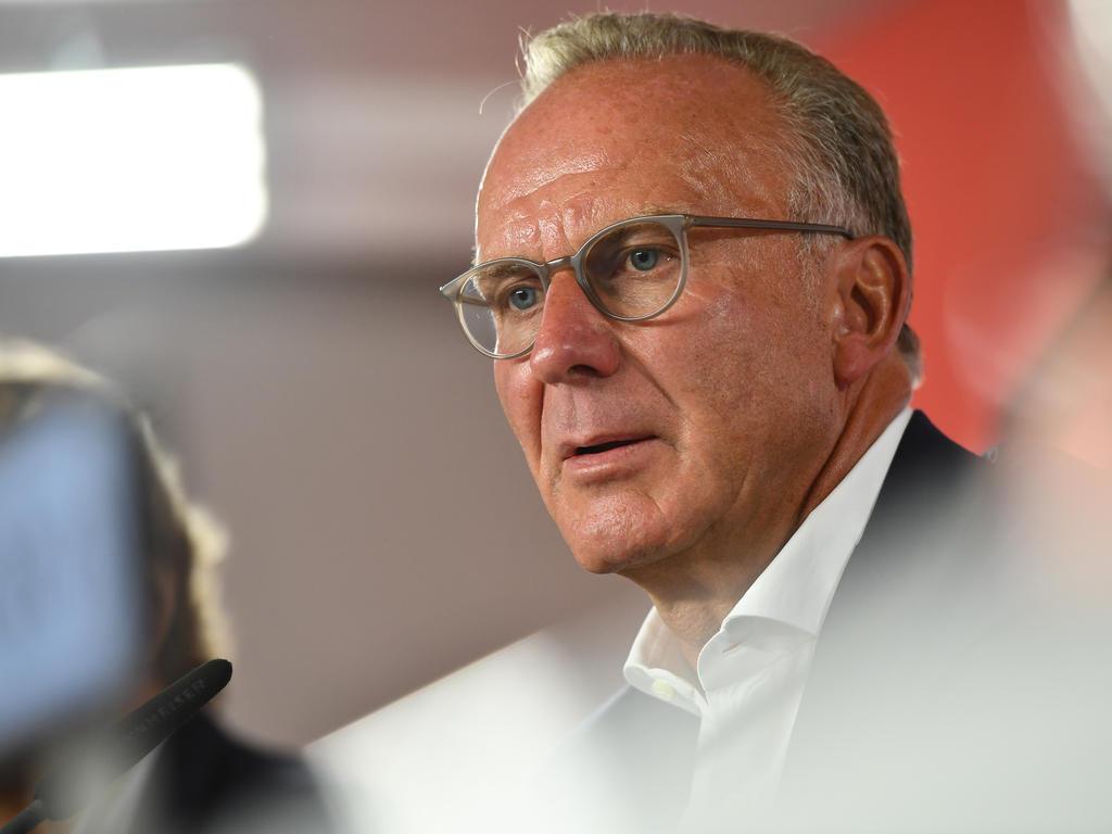 Karl-Heinz Rummenigge äußerte sich zum jüngsten Bayern-Gerücht