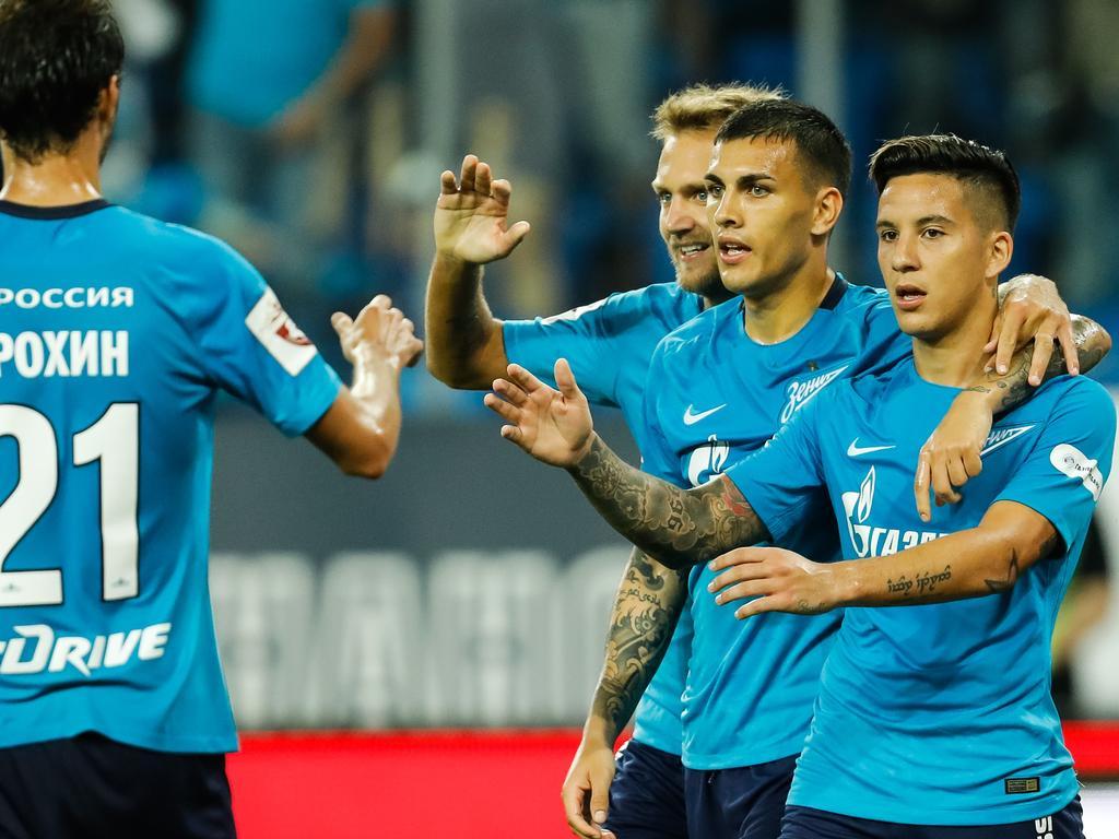 Resultado de imagen de Zenit  1-0  Anzhi Makhachkala