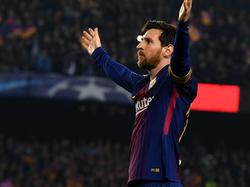 Barcas Lionel Messi hatte gegen den FC Chelsea allen Grund zu jubeln