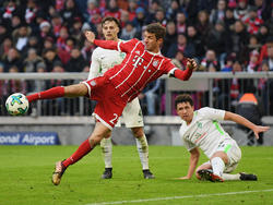 100 Tore auf dem Konto: Müller in Action