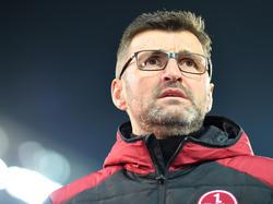 Michael Köllner holte mit dem 1. FC Nürnberg einen Punkt im Montagsspiel