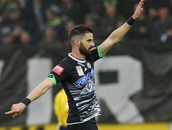 Tasos Avlonitis absolvierte 16 Spiele in der Bundesliga