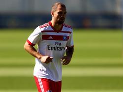 Pierre-Michel Lasogga könnte mit dem HSV in die 2. Bundesliga gehen