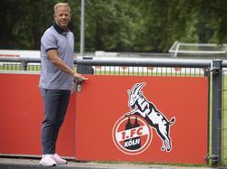 Markus Anfang soll den 1. FC Köln zurück in die Bundesliga führen
