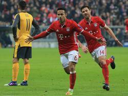 Der FC Bayern deklassierte Mesut Özil und Co. im Achtelfinal-Hinspiel