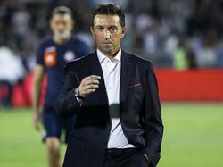 Besnik Hasi ist nicht mehr Trainer in Piräus