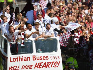 Der letzte große Erfolg der Hearts: Schottischer Pokalsieger 2012