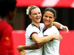 Zwei Leistungsträgerinnen für Rio: Popp (links) und Marozsán
