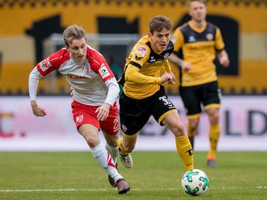 Dynamo Dresden setzte sich glücklich gegen Jahn Regensburg durch