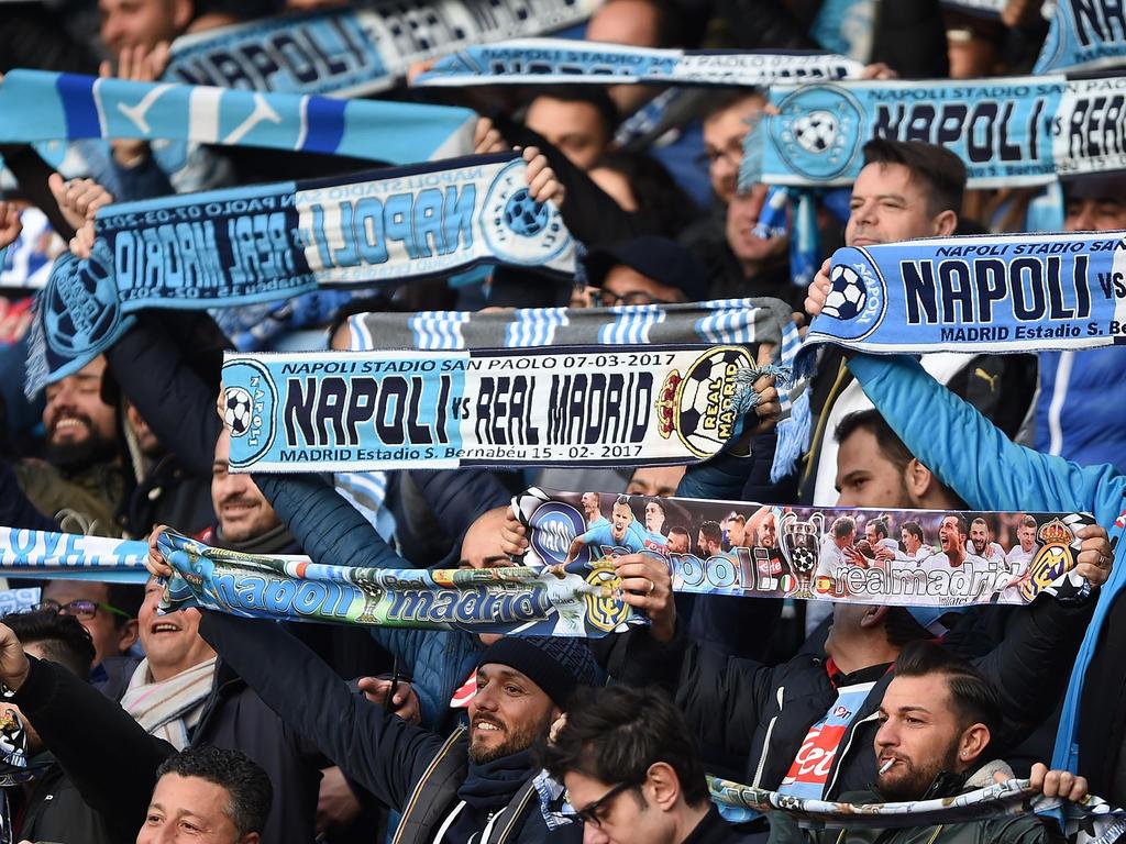Drei Fans des SSC Neapel wurden festgenommen