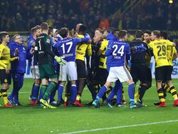 Der BVB und Schalke 04 lieferten sich ein Jahrhundert-Derby