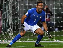 Gianluigi Buffon hatte nach dem Aus in der WM-Quali ursprünglich seinen Abschied verkündet