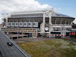 Das berühmte Fußballstadion in Amsterdam