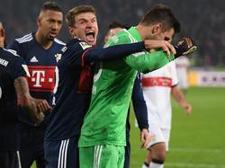 Vertritt Weltmeister Manuel Neuer überaus erfolgreich im Bayern-Tor: Sven Ulreich (r.)