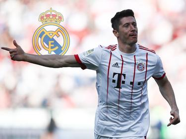 Bayern-Stürmer Robert Lewandowski wird immer mit Real Madrid in Verbindung gebracht