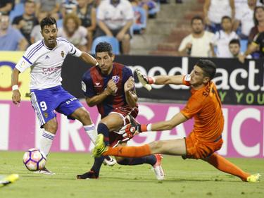 El Huesca sigue determinado a luchar por el ascenso. (Foto: Imago)