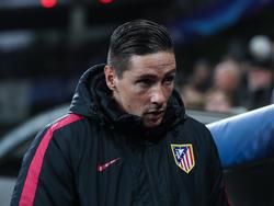 Fernando Torres von Atlético Madrid ist mit einem Schrecken davon gekommen