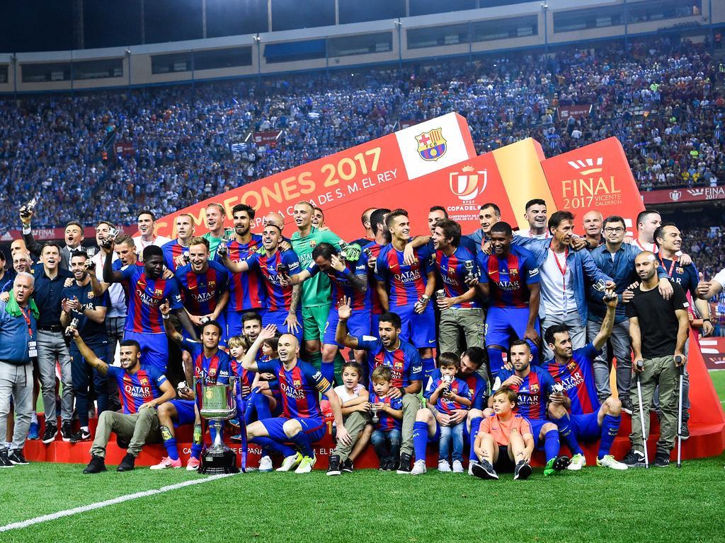Copa del Rey » News » Messi magic inspires Barca to retain ...