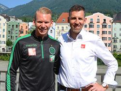 Martin Harrer ist neu in Innsbruck