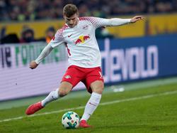 RB Leipzig bemüht sich um eine vorzeitige Vertragsverlängerung mit Timo Werner