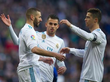 Cristiano Ronaldo (r.) sorgte bei Real Madrid für Lobesstürme