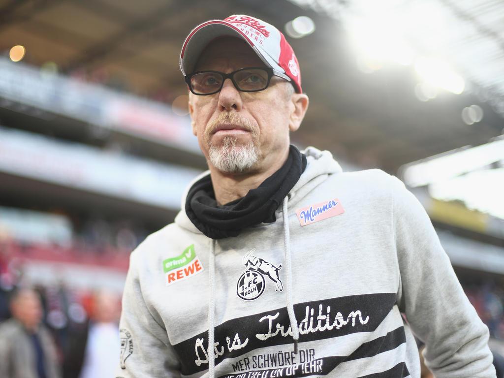 Peter Stöger kann über das Pokallos nicht lachen