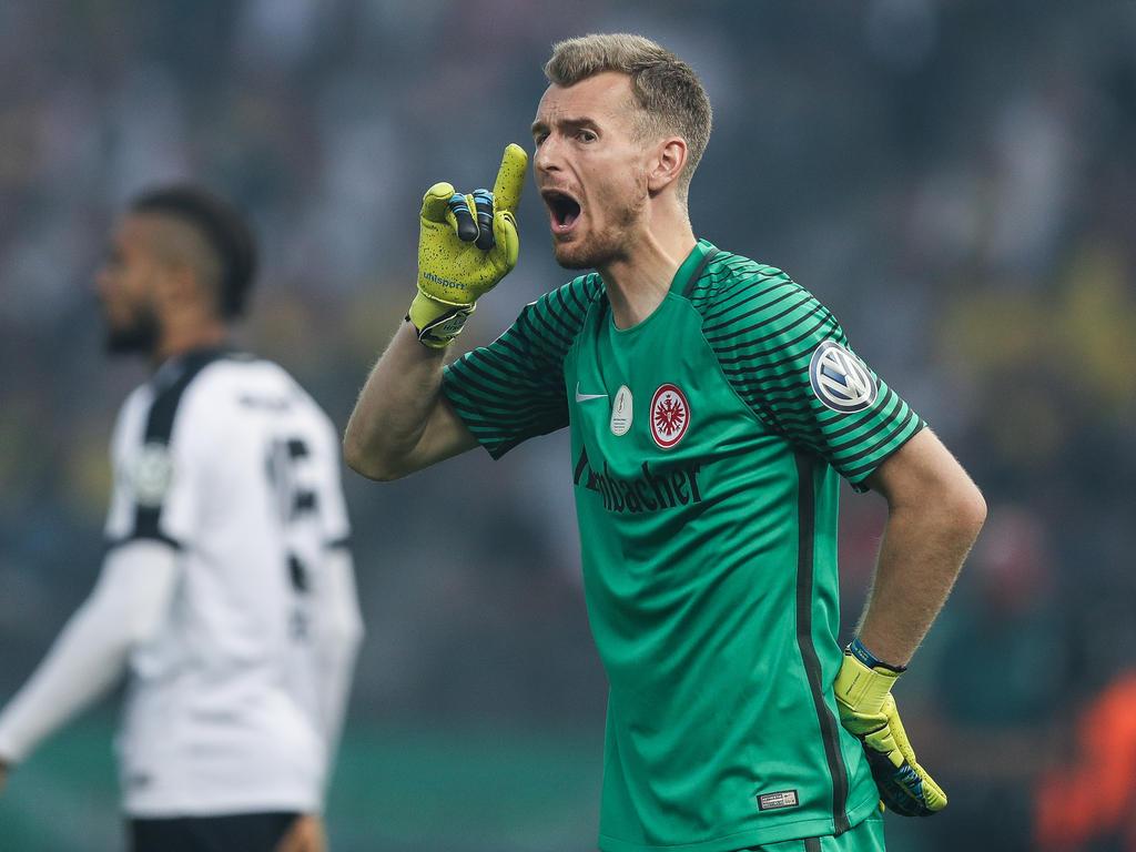Lukáš Hrádecký hat bei der Eintracht einen Vertrag bis 2018