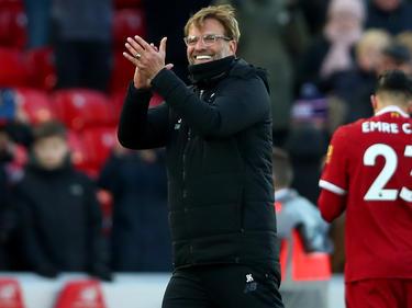 Jürgen Klopp eilt mit dem FC Liverpool von Sieg zu Sieg
