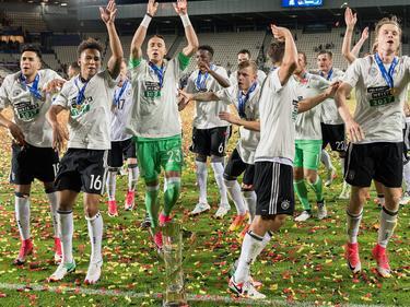 Große Party bei den U21-Kickern