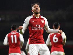 Pierre-Emerick Aubameyang stürmt für den FC Arsenal