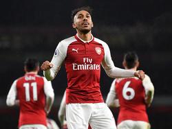 Pierre-Emerick Aubameyang wechselte im Winter zum FC Arsenal