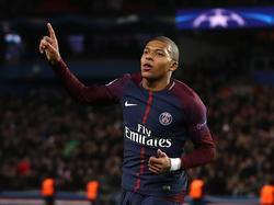 Kylian Mbappé war gegen Angers gleich doppelt erfolgreich