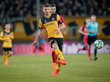 Florian Ballas hat seinen Vertrag in Dresden verlängert