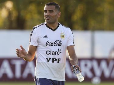 Gabriel Mercado ist guter Dinge