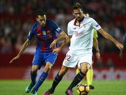 Sevilla y Barça vuelven a medirse en una final de la Copa del Rey. (Foto: Getty)