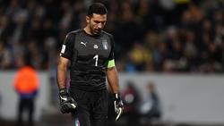 Buffon jugó contra Suecia su último partido con la selección. (Foto: Getty)
