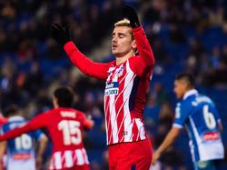 Antoine Griezmann stürmt in der Rückrunde weiterhin für Atlético Madrid