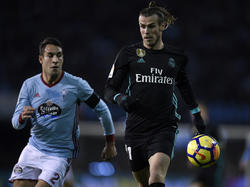 A pesar de un doblete de Bale, el Madrid no pudo ganar en Vigo. (Foto: Getty)