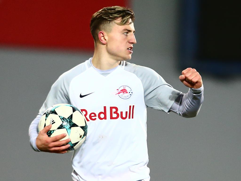 Nicolas Meister- eine der Stützen von Salzburgs Youth-League-Team