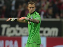 Mark Flekken blamierte sich im Heimspiel gegen Ingolstadt