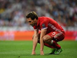Mats Hummels biss im Champions-League-Spiel gegen Real Madrid auf die Zähne